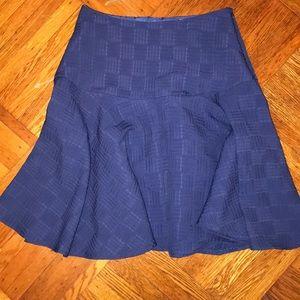 Navy Midi Skirt